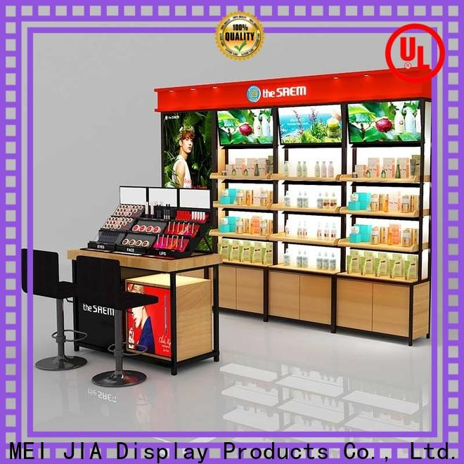 MEI JIA Display Custom retail makeup display stand suppliers for shoppe
