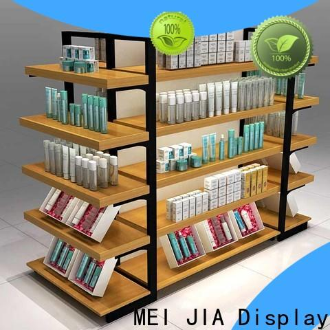 MEI JIA Display Custom cosmetic product display supply for shoppe