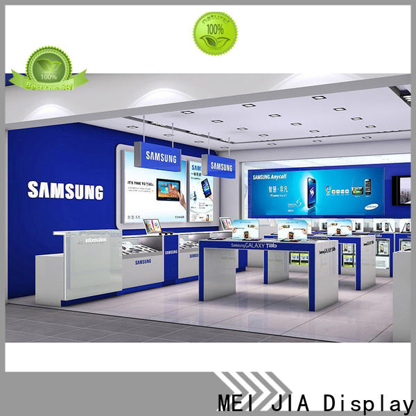 MEI JIA Display showcase cell phone display case supply for showroom