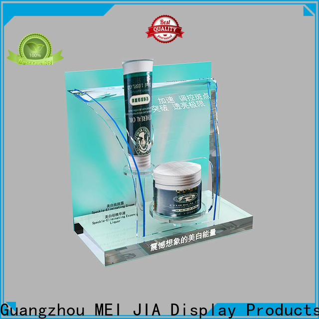 MEI JIA Display New acrylic cosmetic display stand manufacturers for counter