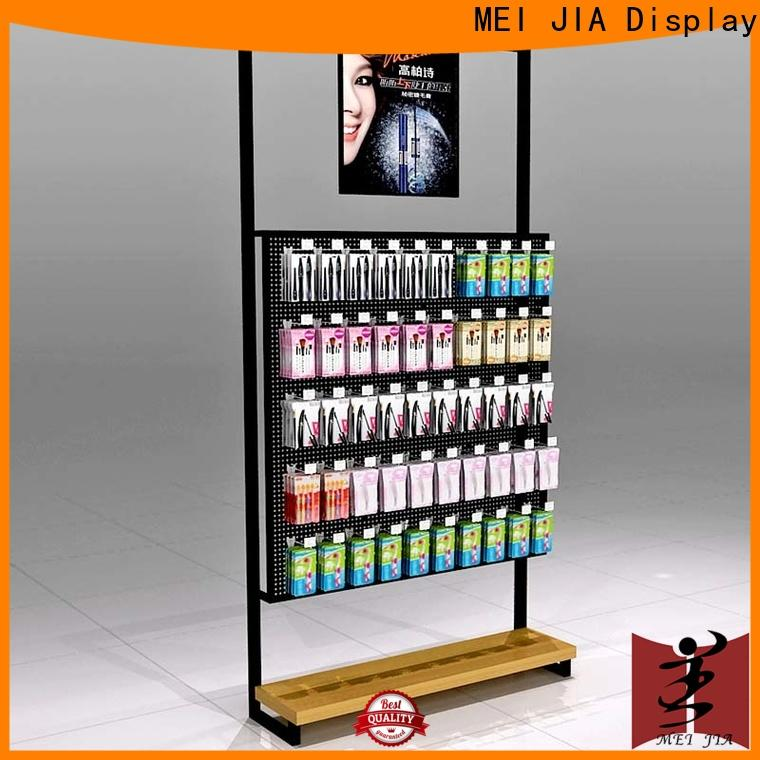 MEI JIA Display Latest cosmetic showcase supply for store