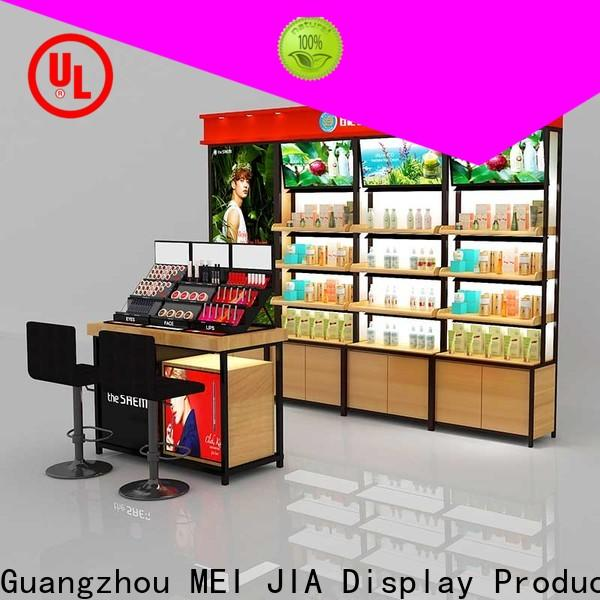 MEI JIA Display holder cosmetic display cabinet suppliers for shoppe