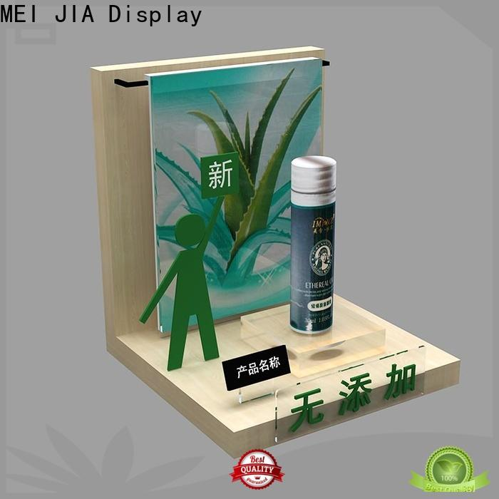 MEI JIA Display New makeup display stand suppliers for shoppe