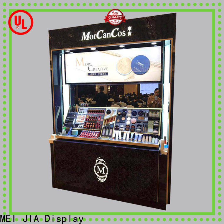 MEI JIA Display Best makeup display stand supply for shoppe
