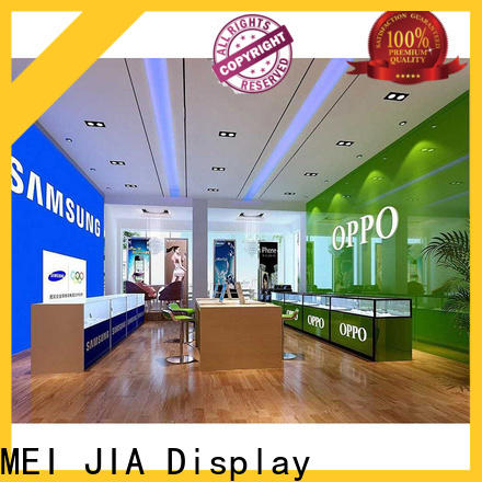 MEI JIA Display mobile mobile display counter company for shoppe