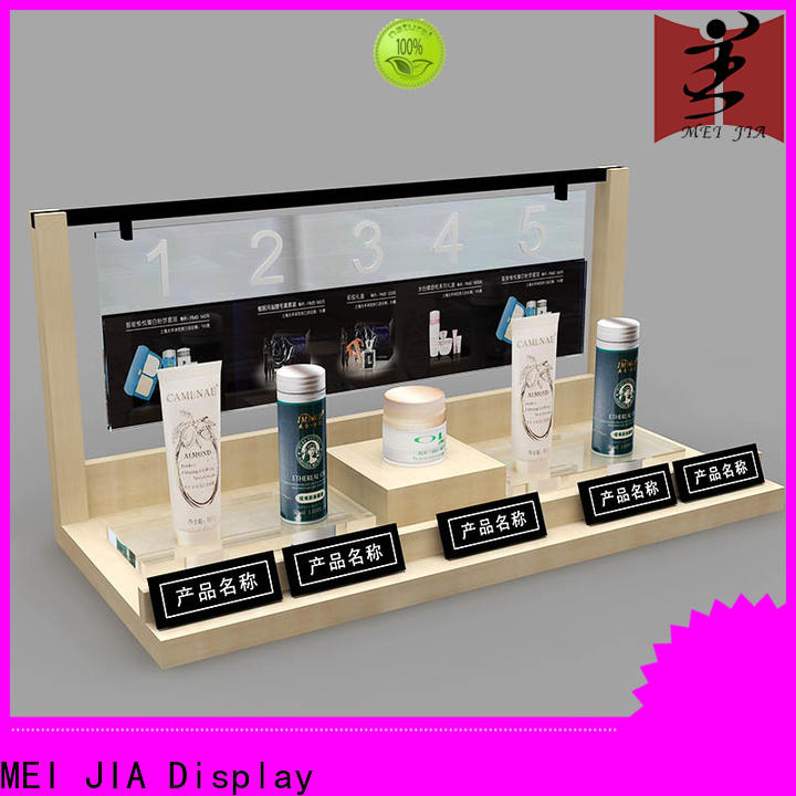 MEI JIA Display Best beauty display units supply for shoppe