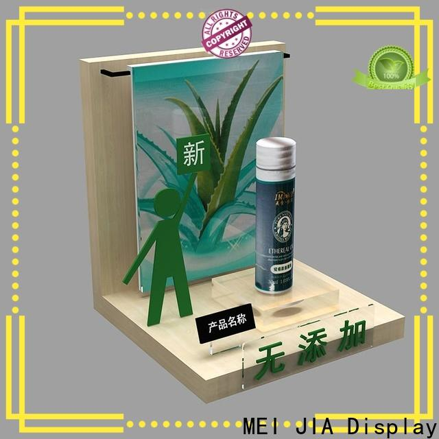 New cosmetics acrylic display stand supply for counter