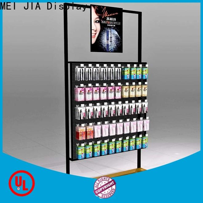 MEI JIA Display Latest makeup retail display supply for shoppe