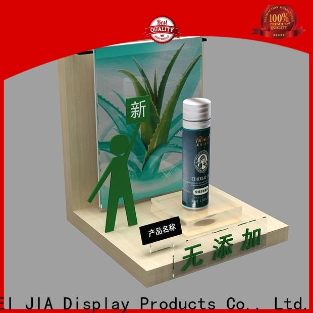 MEI JIA Display showcase acrylic cosmetic display stand company for store