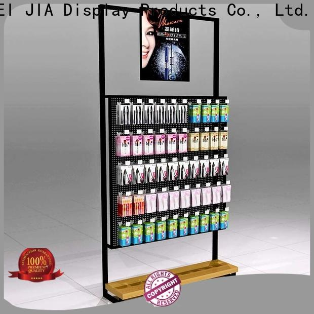 Custom acrylic cosmetic display stand body manufacturers for showroom