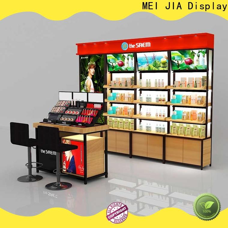 MEI JIA Display stand acrylic cosmetic display stand for business for exclusive shop