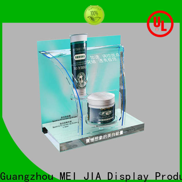 MEI JIA Display counter retail makeup display stand supply for shoppe