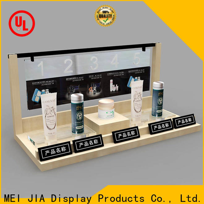 MEI JIA Display High-quality makeup display cabinet suppliers for shop