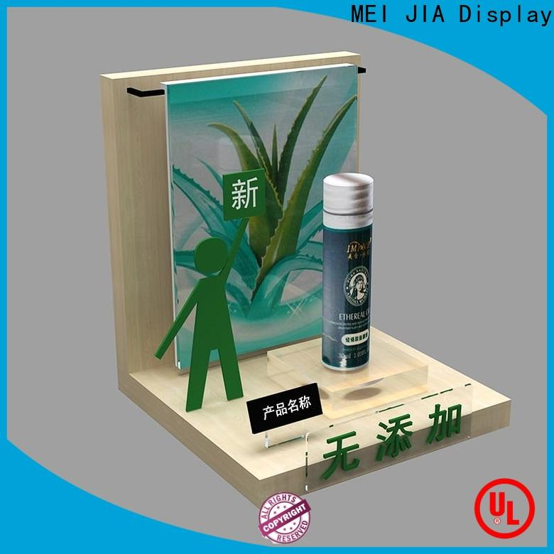 High-quality retail makeup display stand showcase suppliers for exclusive shop