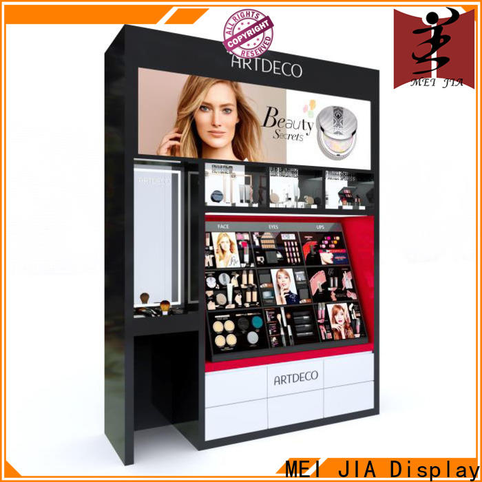 MEI JIA Display showcase cosmetics acrylic display supply for store