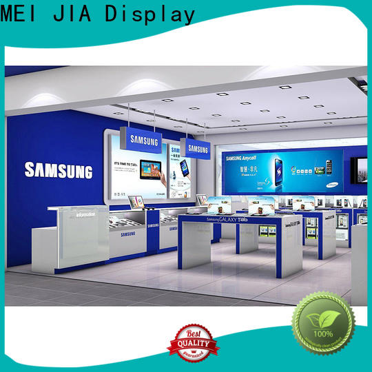 MEI JIA Display desgin mobile display counter manufacturers for showroom