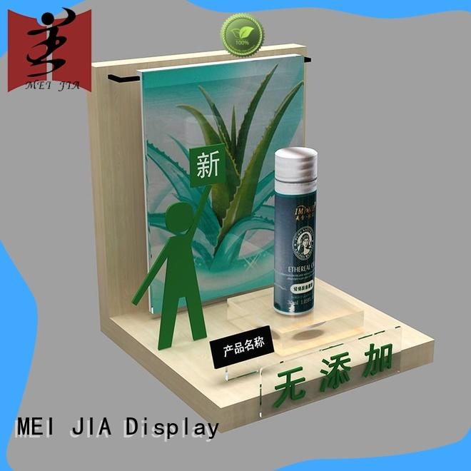MEI JIA Display cosmetic makeup display stand holder for exclusive shop