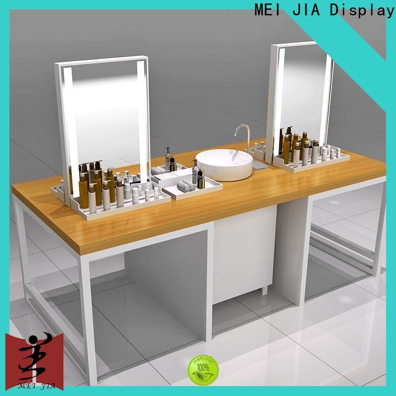 Best cosmetic showcase display supply for exclusive shop