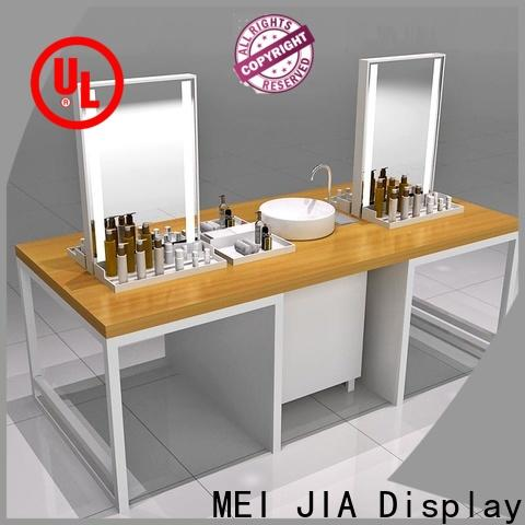 MEI JIA Display Top cosmetic product display supply for showroom