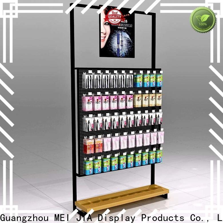 Wholesale cosmetic showcase backside company for shop