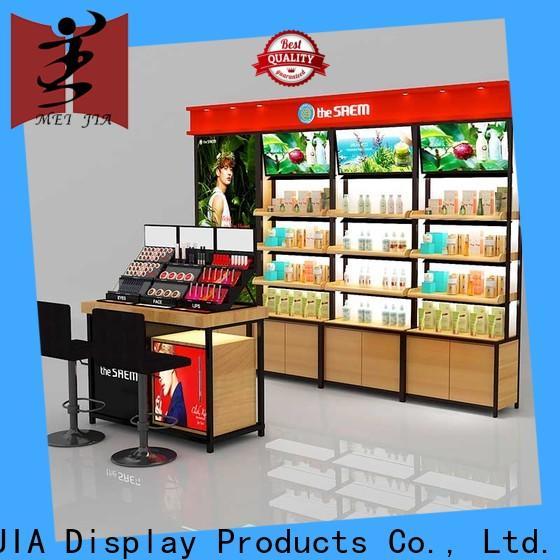 MEI JIA Display Latest cosmetic display cabinet supply for store