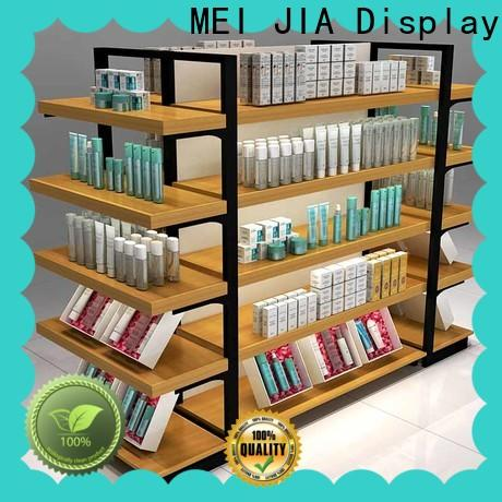 MEI JIA Display wood acrylic cosmetic display stand manufacturers for counter