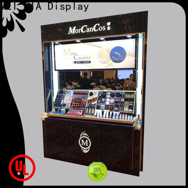 MEI JIA Display out cosmetic display cabinet manufacturers for exclusive shop