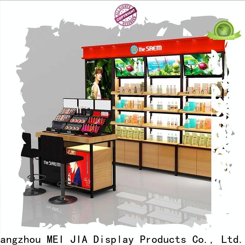MEI JIA Display Custom cosmetic display cabinet for business for shop
