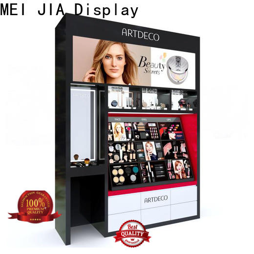MEI JIA Display Latest cosmetic showcase factory for store