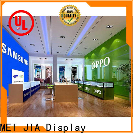 MEI JIA Display cellphone cell phone display case factory for showroom