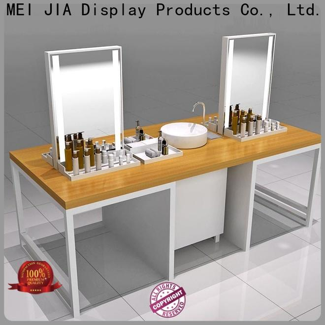 MEI JIA Display Top acrylic cosmetic display stand factory for showroom