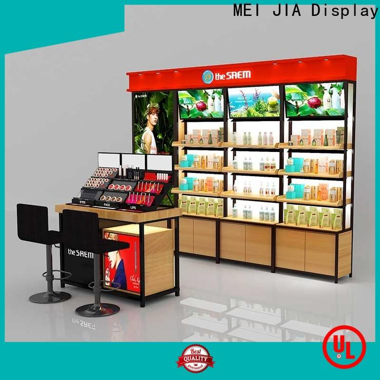 MEI JIA Display Best makeup display stand for business for exclusive shop