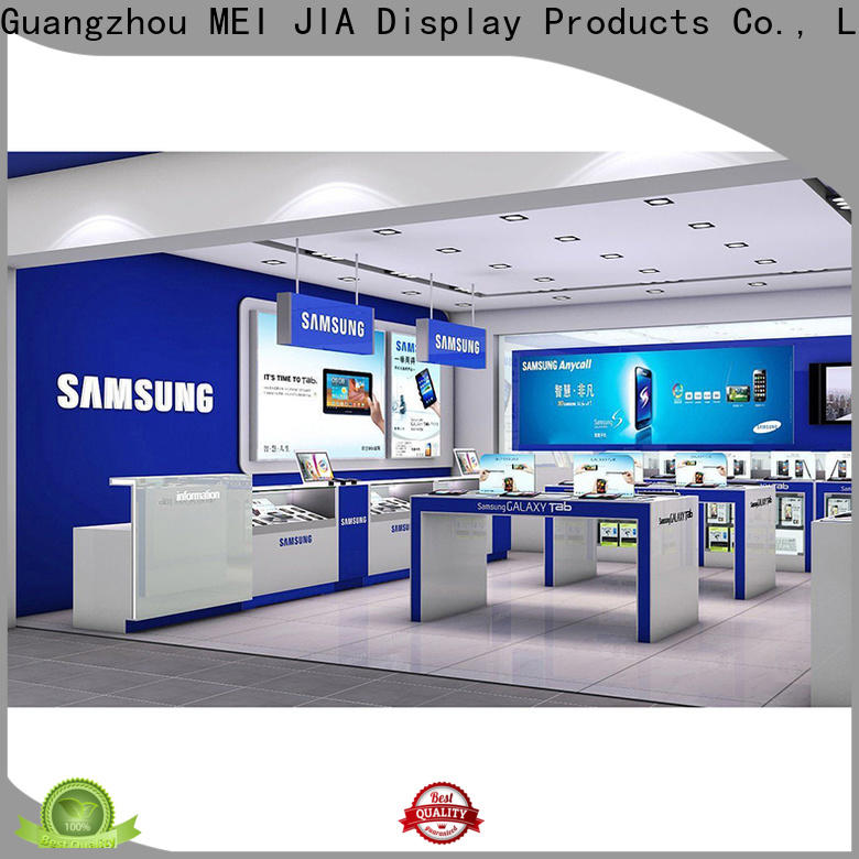 MEI JIA Display counter mobile display counter company for showroom