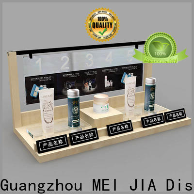 MEI JIA Display Custom cosmetic showcase for business for exclusive shop