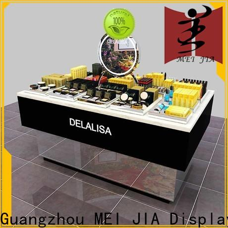 MEI JIA Display backside cosmetic product display manufacturers for showroom