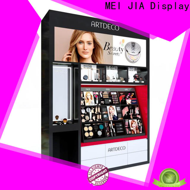 MEI JIA Display retail cosmetic product display manufacturers for showroom