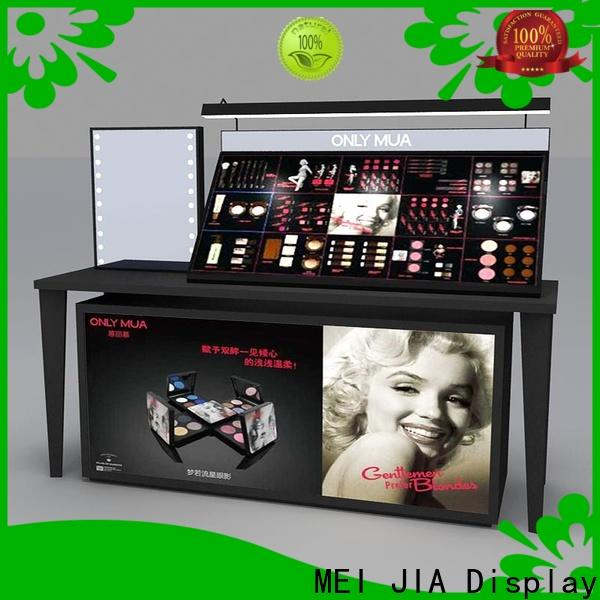 MEI JIA Display cosmetic makeup display cabinet supply for shop