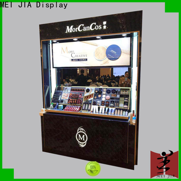 MEI JIA Display High-quality retail makeup display stand manufacturers for showroom