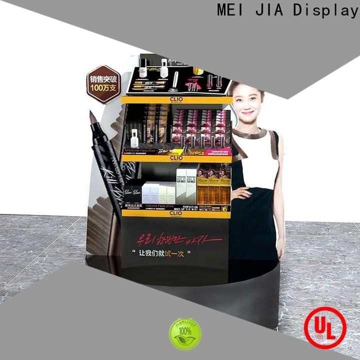 MEI JIA Display Latest beauty display stands manufacturers for store