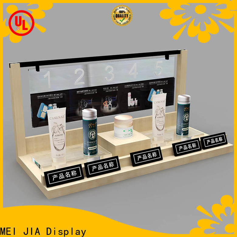 MEI JIA Display Best makeup display cabinet suppliers for showroom