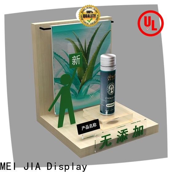 MEI JIA Display shelves makeup display stand suppliers for showroom