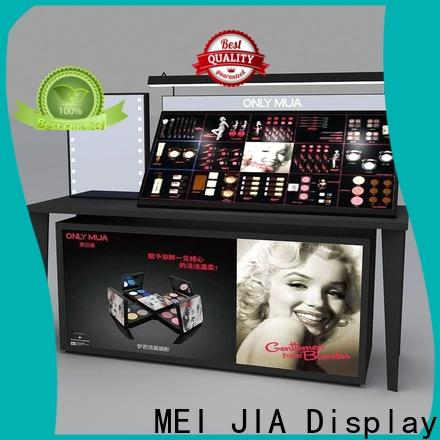 MEI JIA Display display cosmetic showcase factory for shoppe