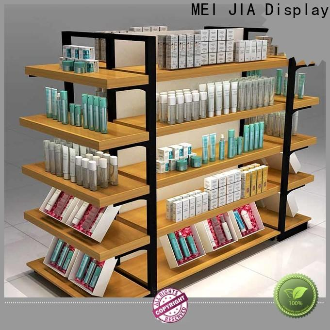 MEI JIA Display showcase acrylic makeup display suppliers for counter