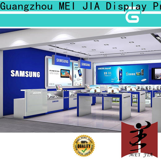 MEI JIA Display Custom mobile phone counter manufacturers for store