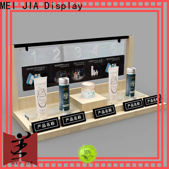 MEI JIA Display retail cosmetic display cabinet suppliers for exclusive shop
