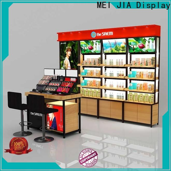 High-quality makeup display cabinet out for business for shop