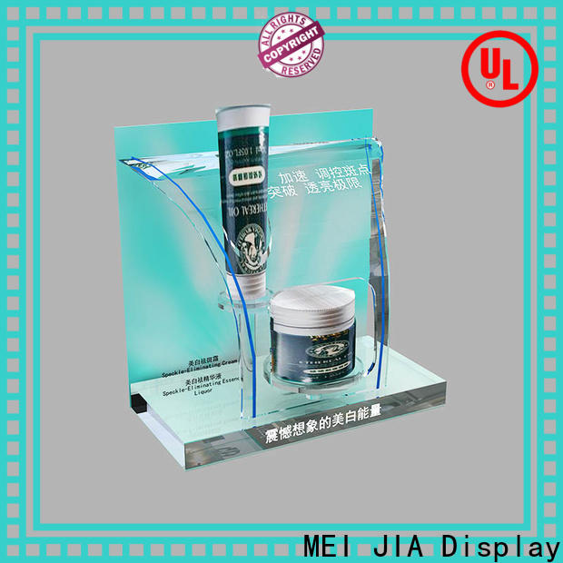 MEI JIA Display Custom acrylic makeup holder for business for store