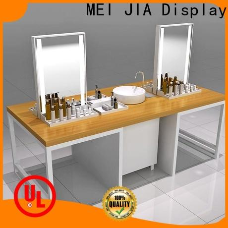 Custom retail makeup display stand shelf supply for shoppe