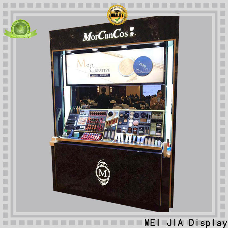 MEI JIA Display skin makeup display stand company for exclusive shop