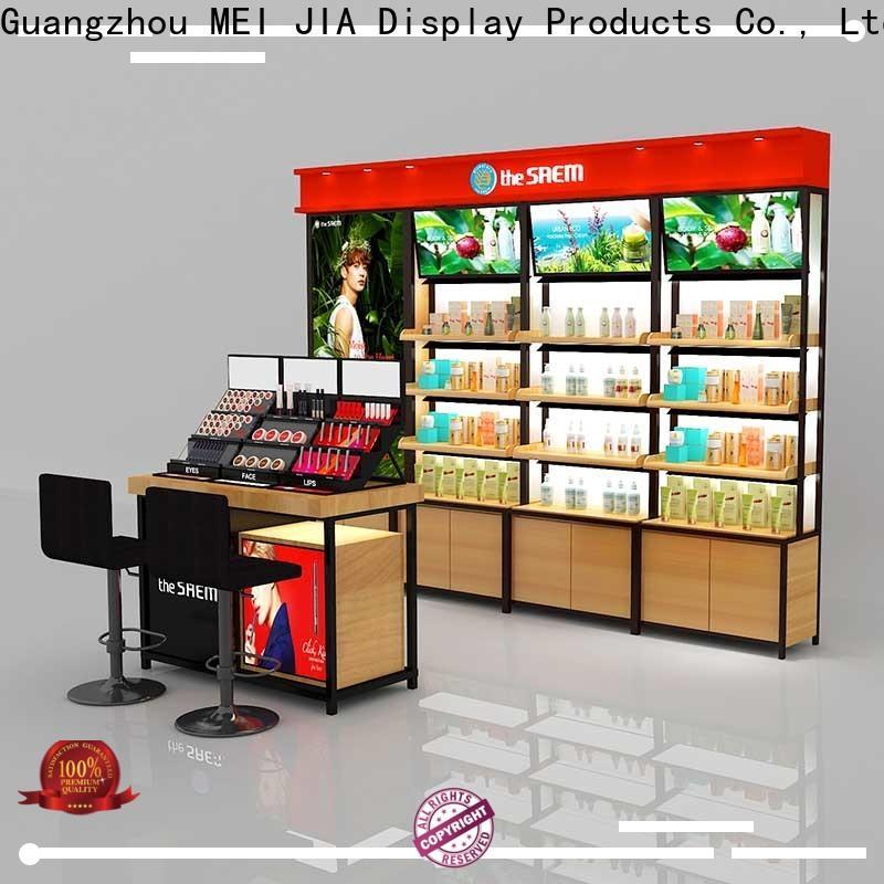 MEI JIA Display Custom makeup retail display supply for showroom